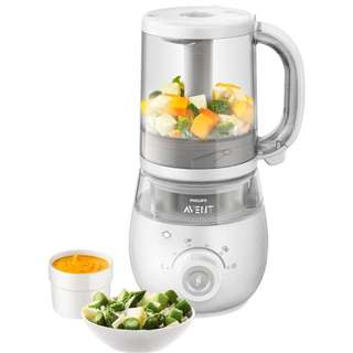Avent 4 in 1 steamer and blender almost new