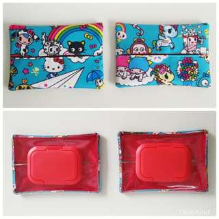 Jujube rainbow dreams two ways tissue pouches