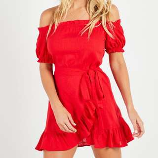 PEPPERMAYO GHIA DRESS - RED