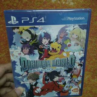 PS4 Digimon World Next Order