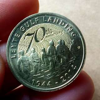 Leyte Gulf Landing 1944-2014 Commemorative Coin
