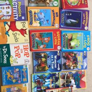 Bundle of books (phonics and early readers)