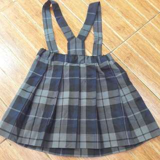 Overall navy black