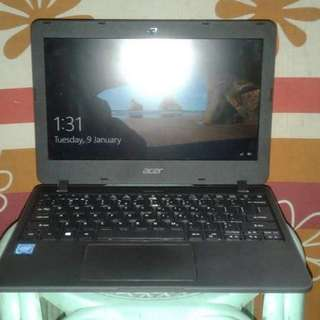 Acer laptop with pocket wifi