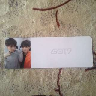 [WTT/WTS] GOT7 JB and Yugyeom Boarding Pass