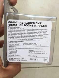 Comotomo Replacement Teat (Medium Flow)