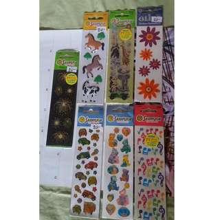 Long Sandylion Stickers