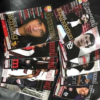 Arsenal Magazine 08/09 Season