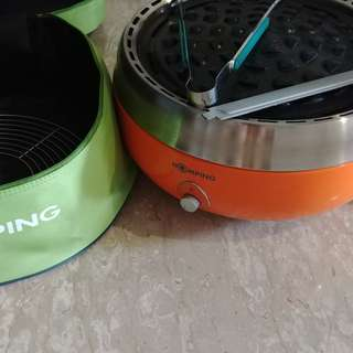 Homping charcoal grill