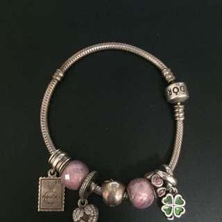 Pandora Bracelet with 7 charms