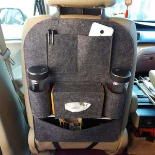 Car Auto Seat Back Multi Pocket Storage
