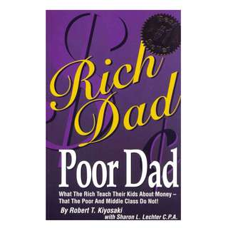 Rich Dad Poor Dad by Robert Kiyosaki *Ebook*