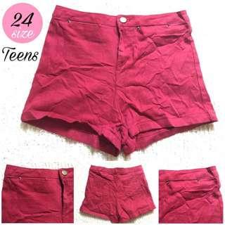 Cotton shorts teens 1