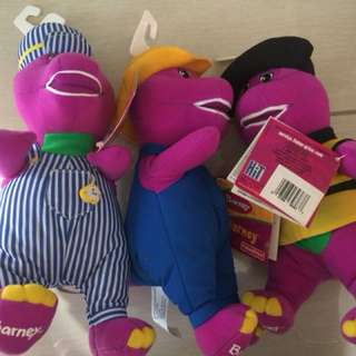 Barney plush toys