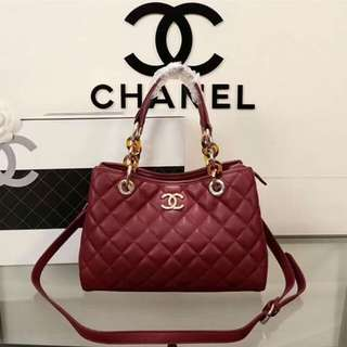 Authentic Chanel bag (red)