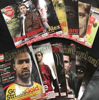 Arsenal Magazine 07/08 Season