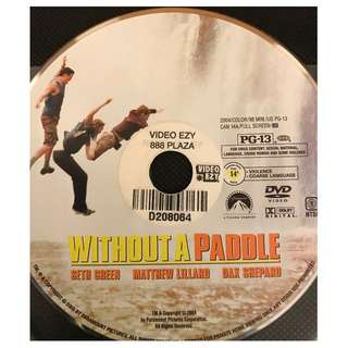 DVD - WITHOUT A PADDLE (ORIGINAL USA CODE 1)