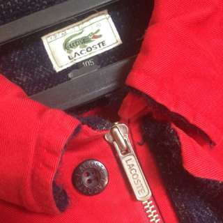 Jaket jacket Lacoste original BU
