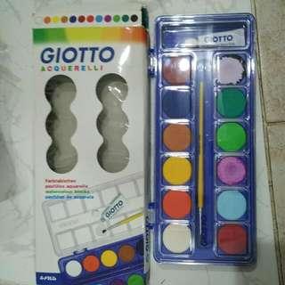 Giotto Watercolour Blocks