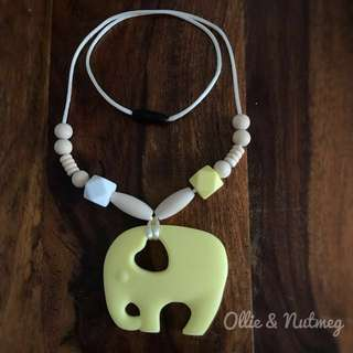 Customised Necklace with Silicone Teether
