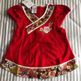 CNY baby girl Top (60cm)