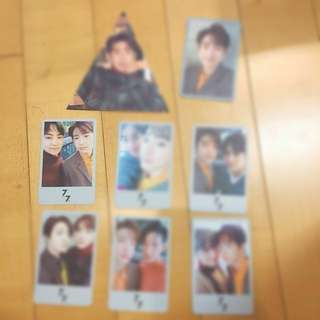 WTB: jinyoung and jjp selcas (7for7 presents edition first and second press)