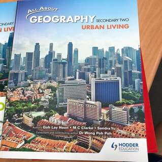 Geography Secondary 2 (urban living)