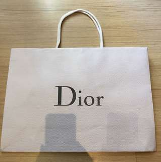 DIOR Largr Paper Bag
