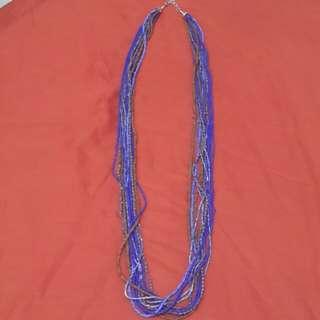 Fabulous Ethnic Multi-Strand Necklace
