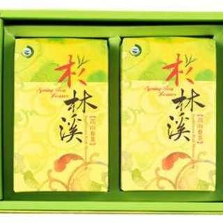 臺灣杉林溪高山茶春茶 300g*2