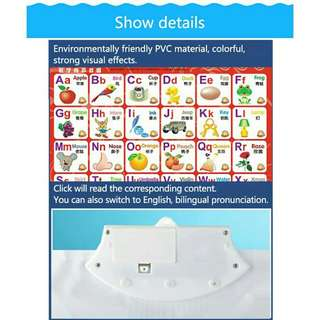 Educational Mat - numbers,  alphabets,  vehicles,  animals