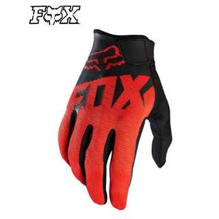 ★READY STOCK ★FOX HIGH QUALITY MOTORCYCLE GLOVES ★ BLACK RED ★ DOWNHILL ★ E-SCOOTER GLOVES ★ E-BIKE ★ NEW ARRIVALS ★ FOX NEW RED 1 ★ DIRT BIKE