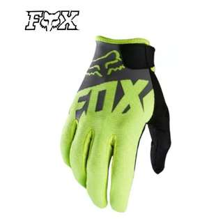 ★READY STOCK ★FOX HIGH QUALITY MOTORCYCLE GLOVES ★NEW BLACK GREY★GREEN  ★E-SCOOTER ★GLOVES ★ E-BIKE ★ DIRT BIKE ★ NEW ARRIVALS
