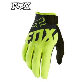 ★READY STOCK ★FOX HIGH QUALITY MOTORCYCLE GLOVES ★ NEW BLACK ★ E-SCOOTER GLOVES ★ E-BIKE ★ MOUNTAIN ★ HILL ★ DIRT BIKE ★HURRY WHILE STOCK LASTS