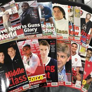 Arsenal Magazine 06/07 Season