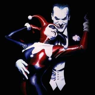 Joker and Harley Quinn Artwork