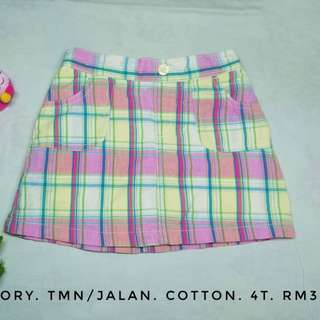 SKIRT WITH UNDERWEAR - FADED GLORY