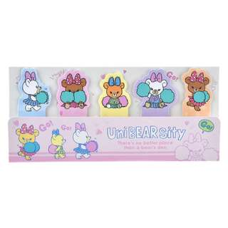 Japan Disneystore Disney Store Unibearsity Pudding & Puffy & Apricot CHEER UP Sticky Notepad Preorder