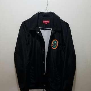 Supreme Spin Logo Coaches Jacket
