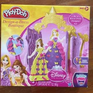 Play Doh Disney Design a Dress Boutique