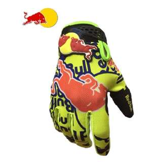 ★READY STOCK ★REDBULL 1★ HIGH QUALITY MOTORCYCLE GLOVES ★ NEW BRIGHT YELLOW ★ E-SCOOTER GLOVES ★ MOUNTAIN BIKE ★ DIRT BIKE ★ NEW ARRIVALS ★ CYCLING ★