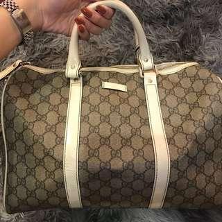 AUTHENTIC GUCCI PVC BAG