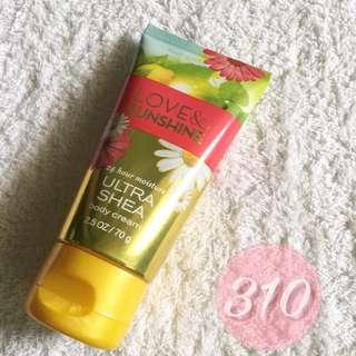 Bath and Body Work Body Cream - Travel Size