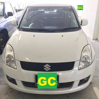 Suzuki Swift CHEAPEST RENT FOR Grab/Uber