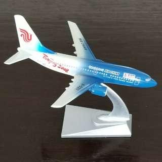 北京2008年奧運 中國國際航空公司B737-700 紀念版飛機模型 airplane model (包郵)