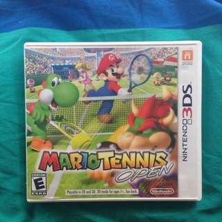 Mario Tennis Open NINTENDO 3DS