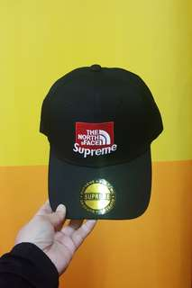 SUPREME THE NORTH FACE CAP
