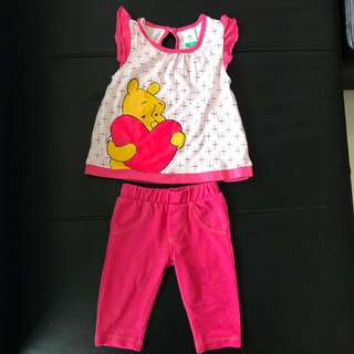 Disney baby top and pant