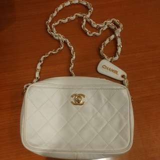 Chanel Vintage with card 18cm x 12cm
