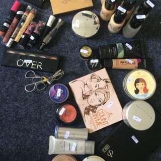 Beauty Case Mitsuto + full all tools makeup